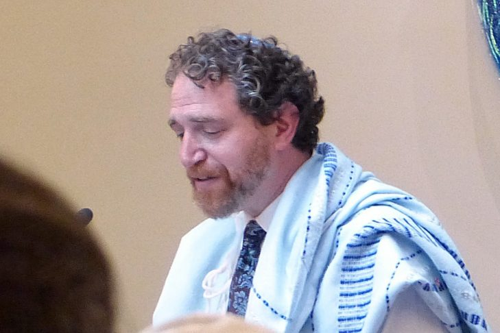Rabbi Michael Rothbaum became Congregation Beth Elohim's first new spiritual leader in 40 years on July 1, 2017.