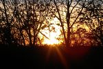 Solstice walk sunset 12.20.15
