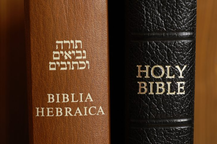 Hebrew and Christian Bibles (photo: MKucova/iStock)