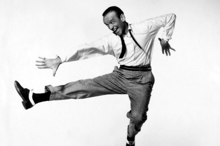 "Fred Astaire (Publicity still for the film ""Daddy Long Legs"")"