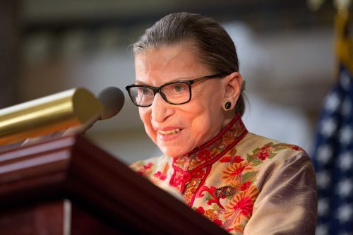 The Notorious R.B.G., aka U.S. Supreme Court Justice Ruth Bader Ginsburg (Photo: Allison Shelley/Getty Images)
