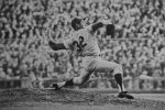 Sandy Koufax pitches during Game 7 of the 1965 World Series (Photo: Cliff/Flickr)
