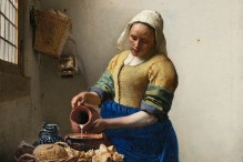 """The Milkmaid"" by Johannes Vermeer (estimated 1657-1661)"