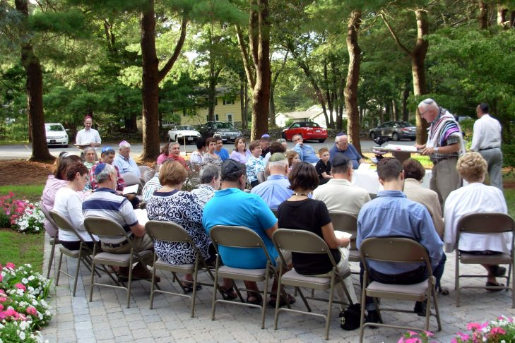Shabbat Outside 2012