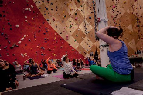 Yoga Brooklyn Boulders 3