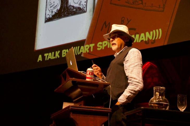 Art Spiegelman (Photo: Ashley Jacobs)