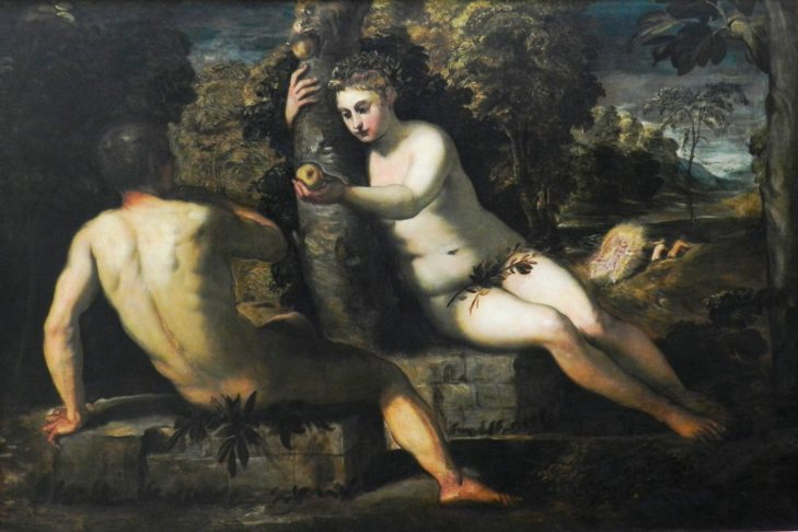 The Temptation of Adam & Eve by Tintoretto