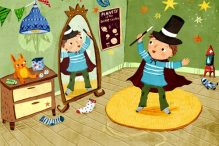 """The Mitzvah Magician"" by Linda Elovitz Marshall, illustrated by Christiane Engel"