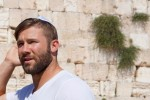 Julian Edelman in Israel (Courtesy photo)