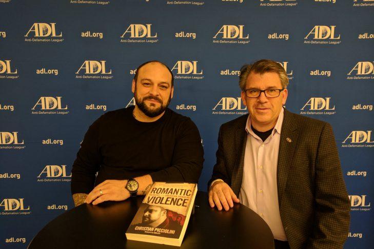 Christian Picciolini, left (Courtesy photo)
