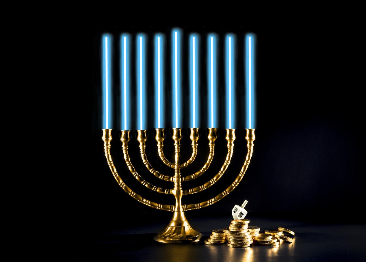 Happy Hanukkah 2018 >> Menorah Candle Lighting Order 2017 | Decoratingspecial.com