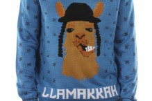 LLamakah sweater by TipsyElves.com (Courtesy photo)