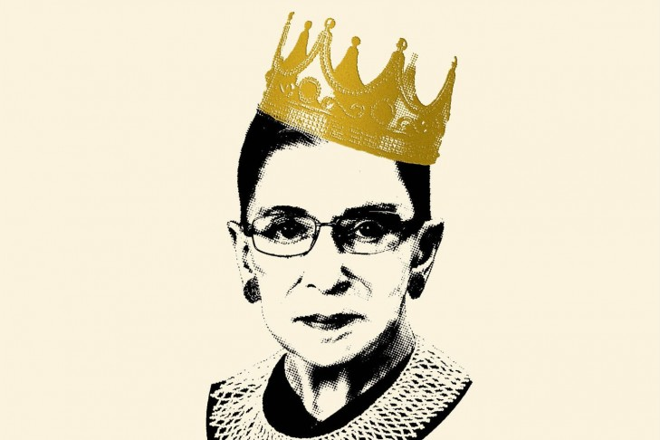"""Notorious RBG: The Life and Times of Ruth Bader Ginsburg"" by Irin Carmon & Shana Knizhnik"