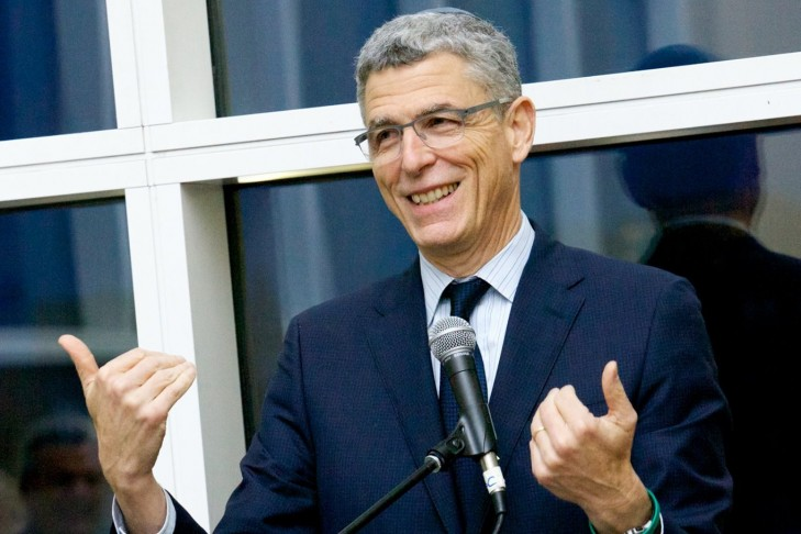 Rabbi Rick Jacobs at the URJ Biennial 2017 (Courtesy Union for Reform Judaism)