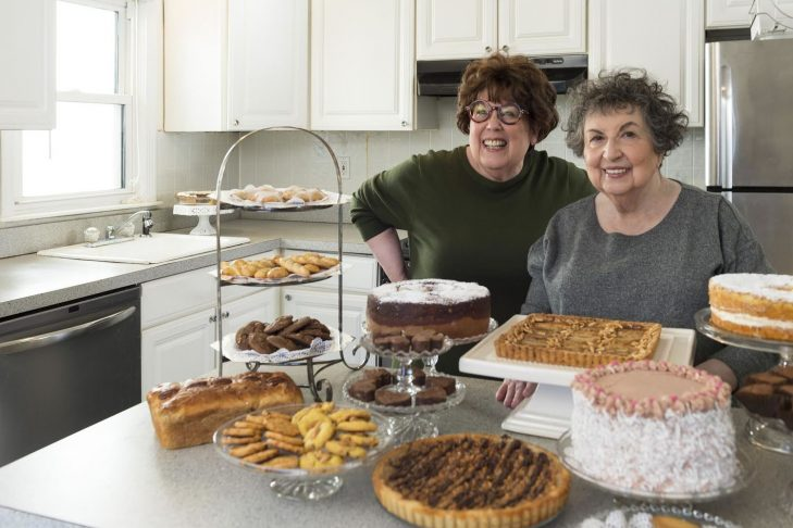 Marilynn, left, and Sheila Brass (Courtesy photo)
