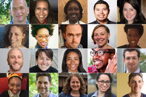 Inaugural Boston Community Leaders Cohort (Credit: Yael Mehl)