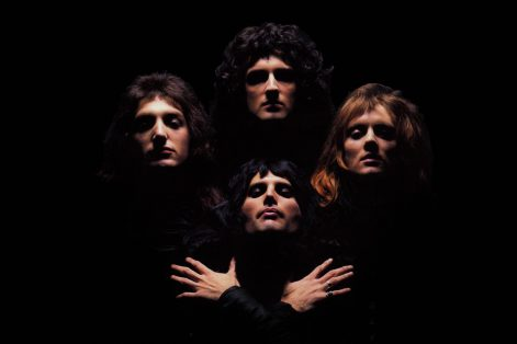 "Freddie Mercury and Queen on the cover of their album ""Queen II"" (Promotional image)"