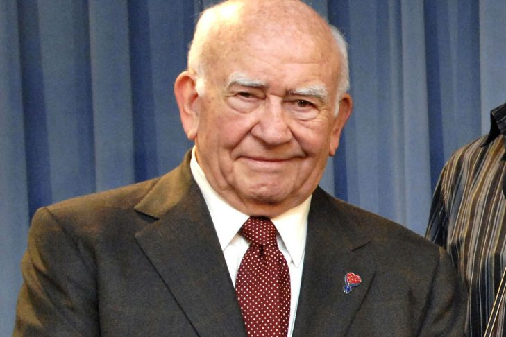 Ed Asner (Photo: Department of Defense/William D. Moss)