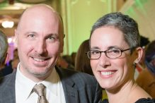 Lauren Corduck and her husband, Robb. (Maura Wayman Photography)