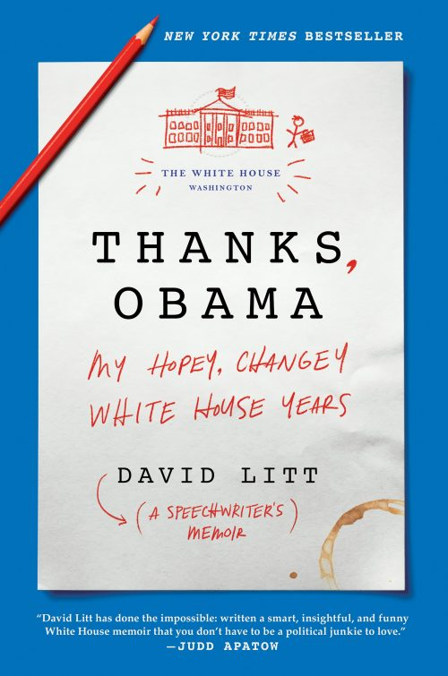 ThanksObama cover image NYTbestseller
