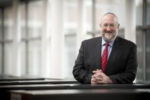 Rabbi Daniel L. Lehmann (Courtesy Hebrew College)