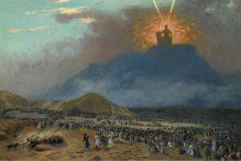 Moses on Mount Sinai by Jean-Léon Gérôme