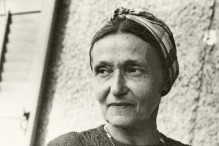 Kadia Molodowsky (Photo: National Library of Israel, Schwadron Collection)