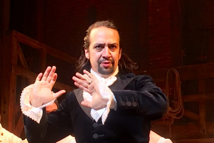 "Lin-Manuel Miranda in ""Hamilton"" (Photo: Steve Jurvetson/Flickr)"