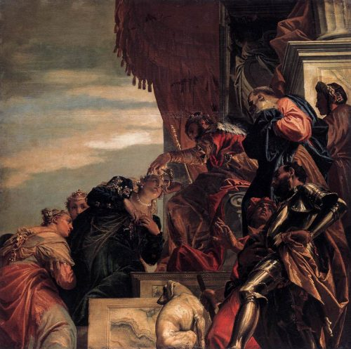 """Esther Crowned by Ahasuerus"" by Paolo Veronese"