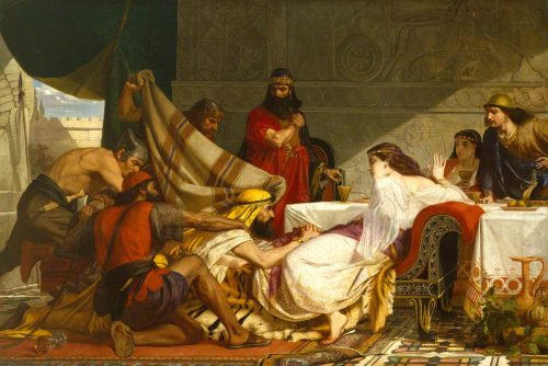 """The Festival of Esther"" by Edward Armitage"
