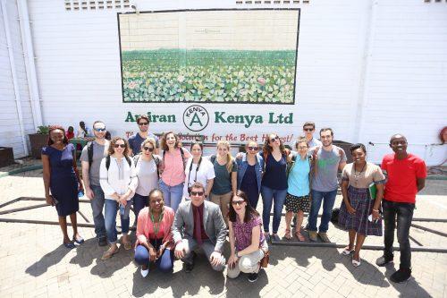 Group at Amiran Keny (Courtesy photo)