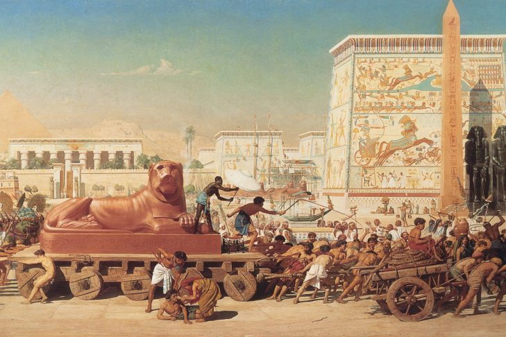 """Israel in Egypt"" by Edward John Poynter"