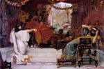 """Esther Denouncing Haman"" (1888) by Ernest Normand"
