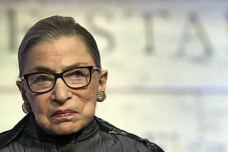 """Ruth Bader Ginsburg in """"RBG"""""""