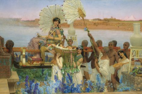 """The Finding of Moses"" by Lawrence Alma-Tadema"
