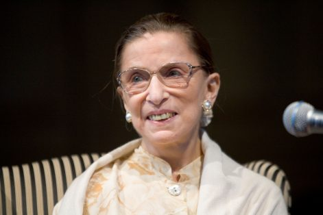 Justice Ruth Bader Ginsburg (Photo: Wake Forest University School of Law/Flickr)