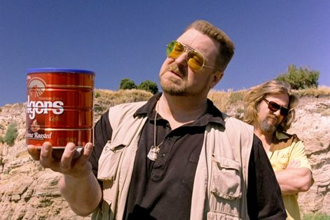 "John Goodman as Walter Sobchak in ""The Big Lebowski"" (Promotional still)"