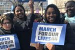 "Dozens of Boston-area teenagers traveled to Washington, D.C. to participate in the ""March For Our Lives"" event. (Courtesy photo)"