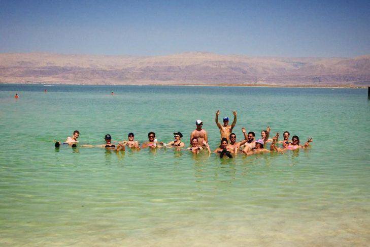 Floating in the Dead Sea (Photo: Pam Abrahams)