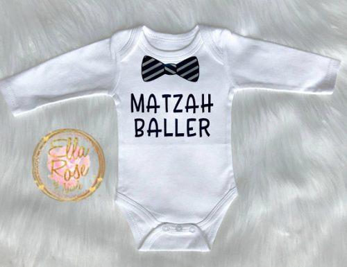 Matzah Baller Onesie