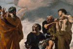 """Moses and the Messengers from Canaan"" by Giovanni Lanfranco"