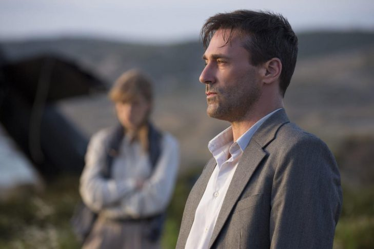 "Jon Hamm and Rosamund Pike in ""Beirut"" (Promotional still)"