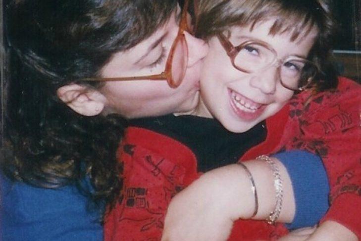 Samantha, right, and her aunt Gail (Courtesy Samantha Joseph)