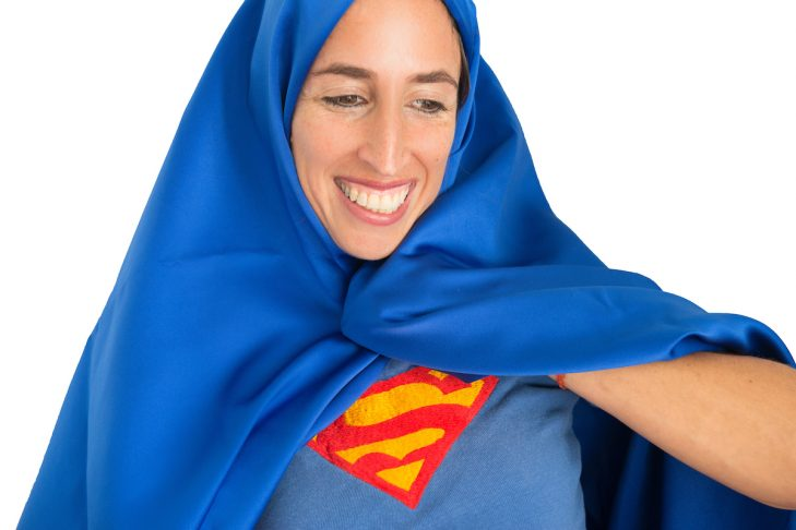 """""""Superwoman"""" from """"Holding Differences Tenderly"""" (Photo: Brenda Bancel)"""