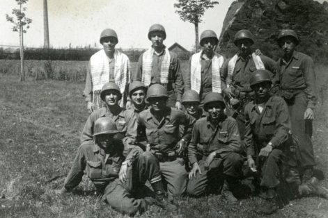 Jewish American soldiers in World War II (Courtesy Turquoise Films)