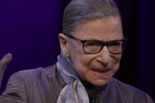 """U.S. Supreme Court Justice Ruth Bader Ginsburg in """"RBG,"""" directed by Betsy West and Julie Cohen. (Courtesy CNN Films)"""