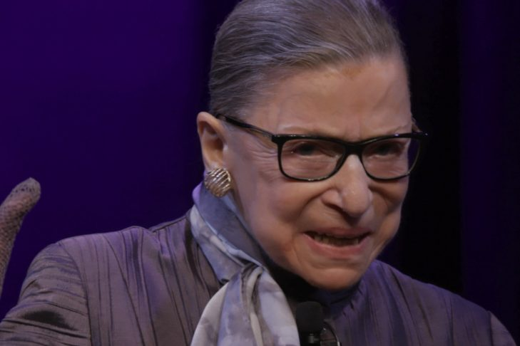 "U.S. Supreme Court Justice Ruth Bader Ginsburg in ""RBG,"" directed by Betsy West and Julie Cohen. (Courtesy CNN Films)"