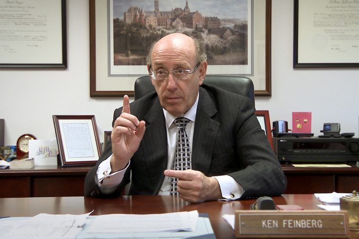 "Kenneth Feinberg in the documentary ""Playing God"" by Piotr Mirski"
