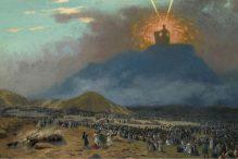 """""""Moses on Mount Sinai"""" by Jean-Léon Gérôme"""