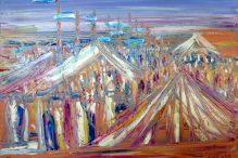 (Painting: Yoram Ranaam)